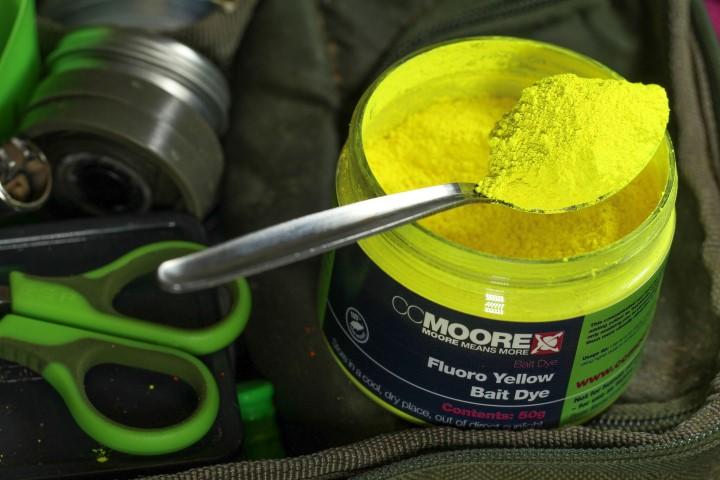 CC Moore Fluoro Bait Dyes – Pink, Yellow, Orange