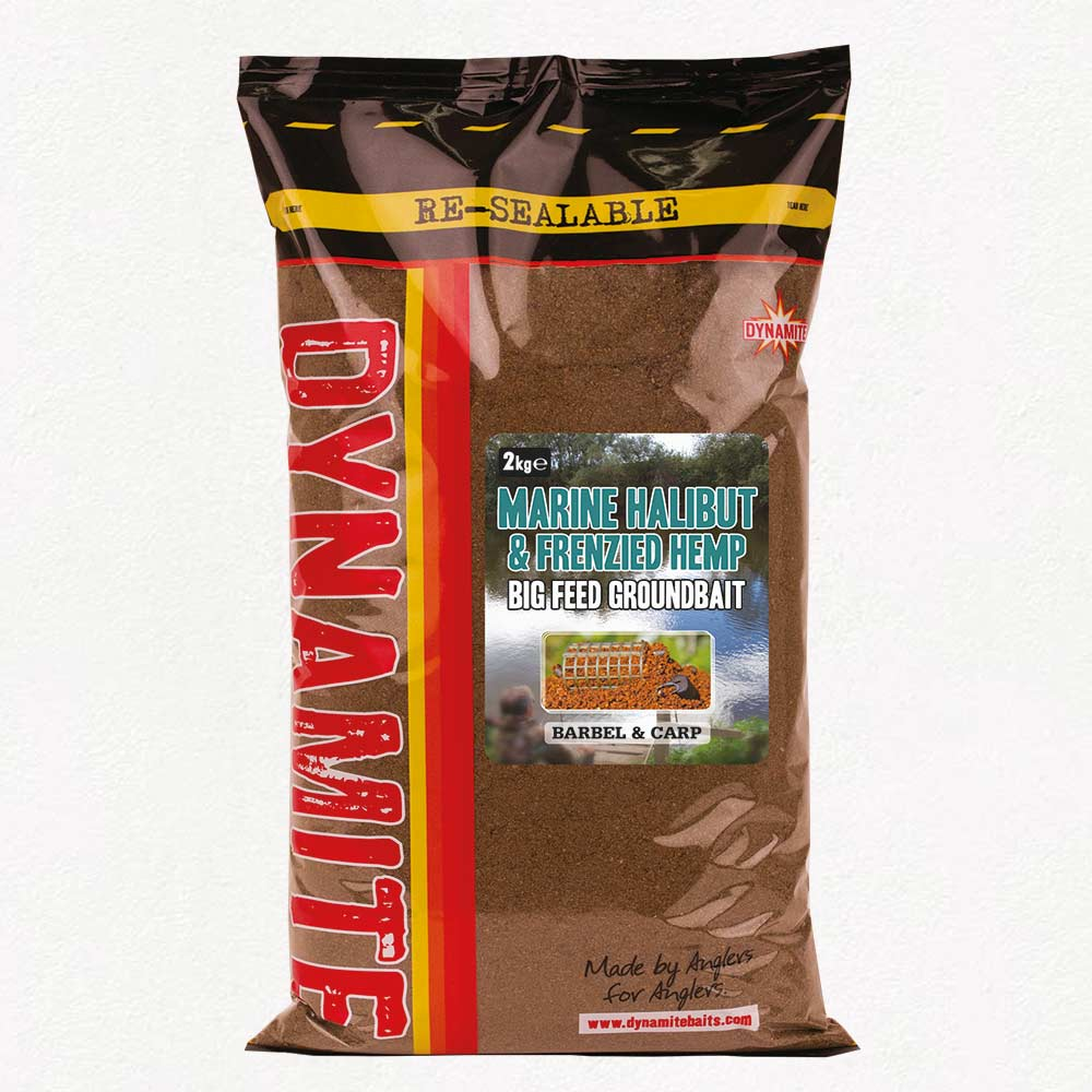 Dynamite Baits Marine Halibut & Frenzied Hemp Groundbait 2kg