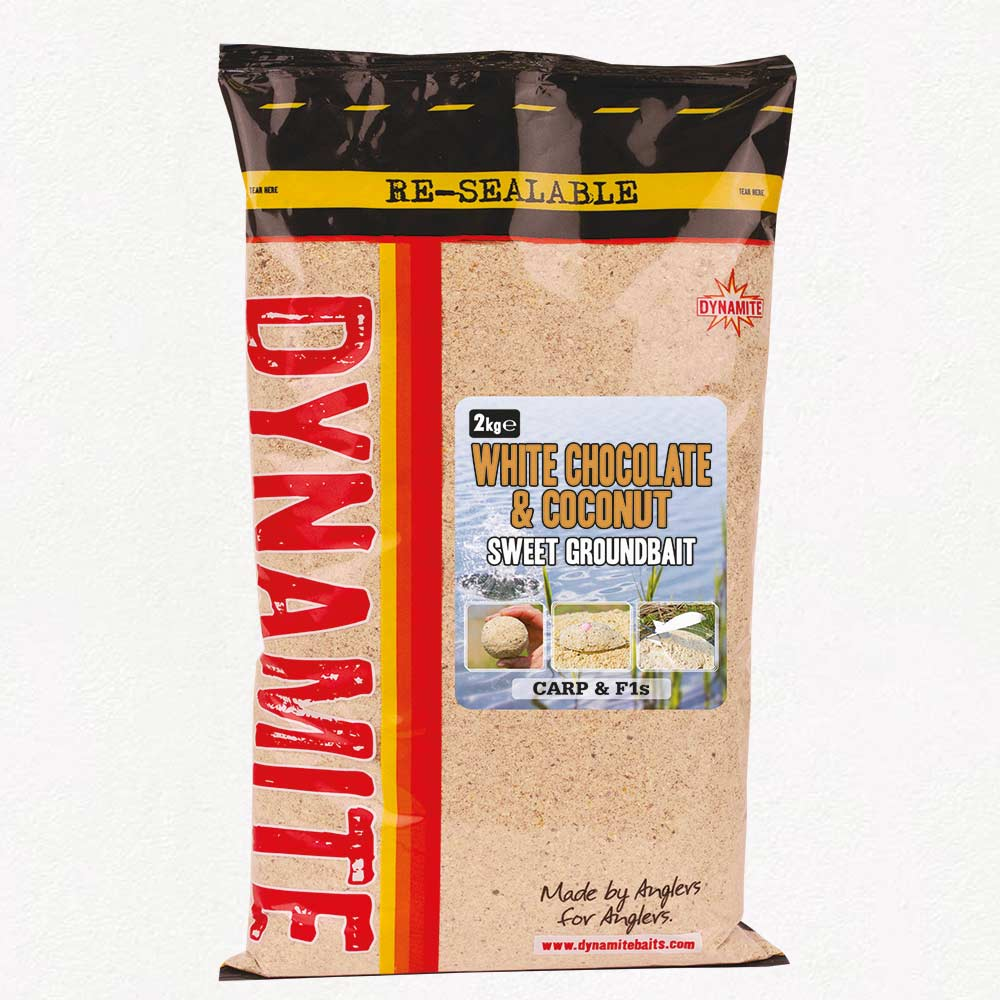 Dynamite Baits White Chocolate & Coconut Groundbait 2kg