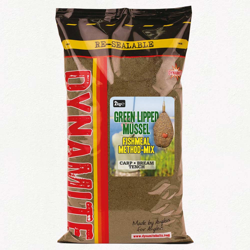 Dynamite Baits Green Lipped Mussel Method Mix 2kg