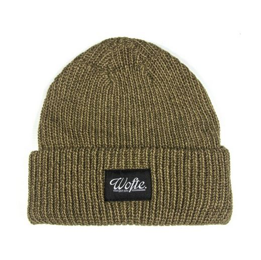 Wofte Clothing Khaki Earth Beanie Hat