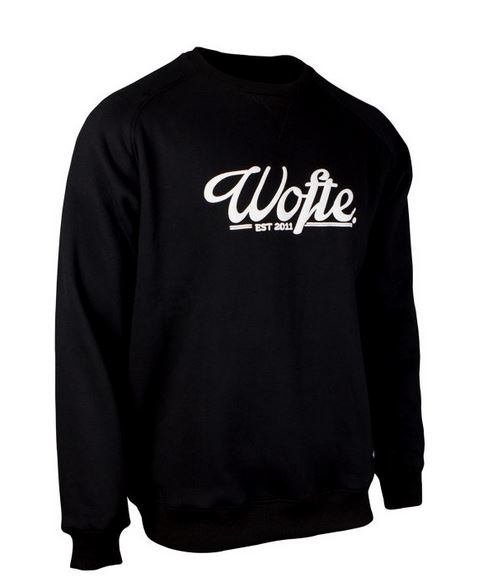 Wofte Clothing Black Rep Sweat