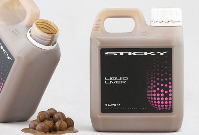 Sticky Baits Liquid Liver 1ltr