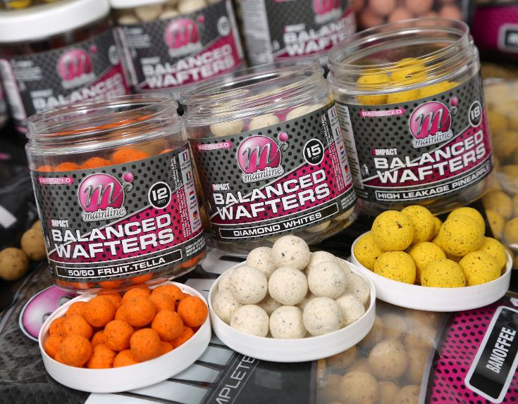 Mainline Baits High Impact Balanced Wafters 12mm