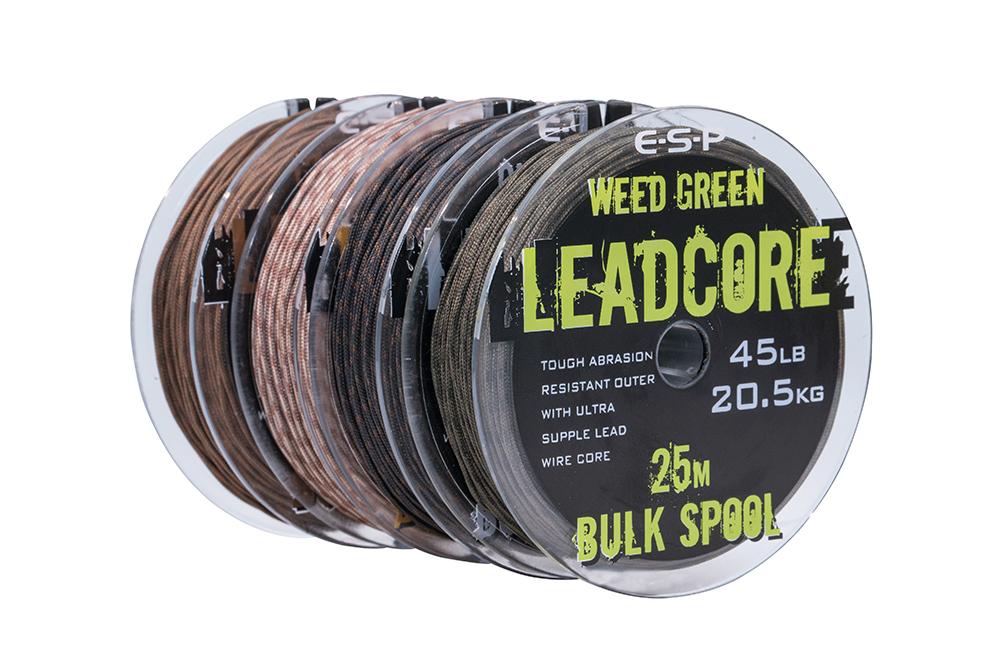 ESP Leadcore Bulk Spools (45lb – 25m)