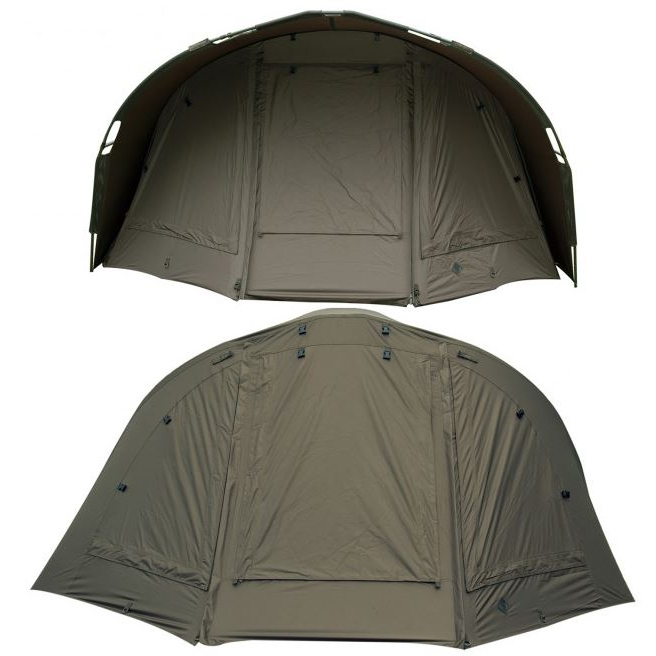 Nash Double Top Mk4 1 Man Bivvy + Wrap + Groundsheet