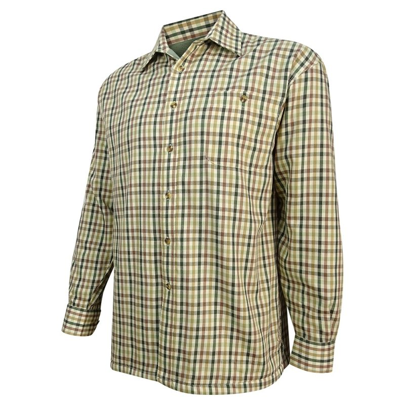 Hoggs Bracken Fleece Lined Shirt