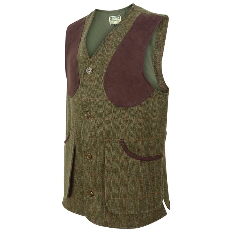 Hoggs Harewood Tweed Shooting Vest