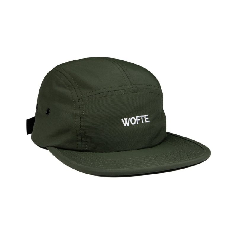 Wofte Staple 5 Panel Cap Olive