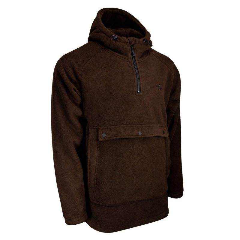 Wofte Fleece Jacket Brown