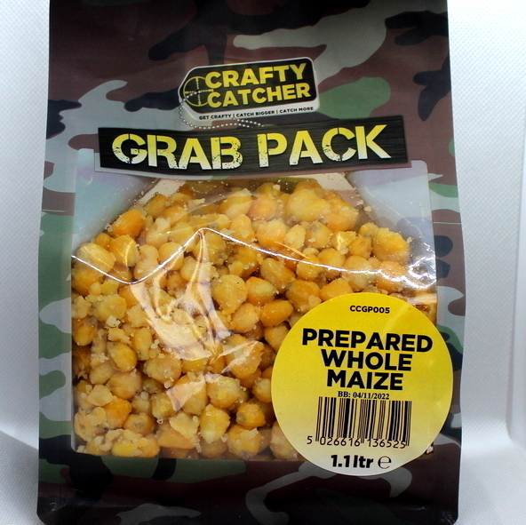 Crafty Catcher Prepared Whole Maize 1.1ltr