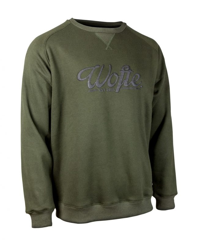 Wofte Olive Rep Sweat