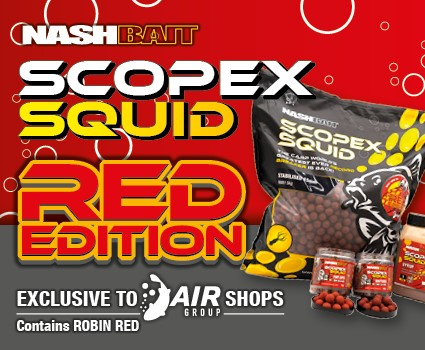 Nash Scopex Squid Red 15MM 5KG