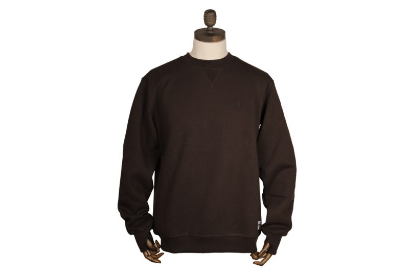 Thinking Anglers Crew Neck – Brown