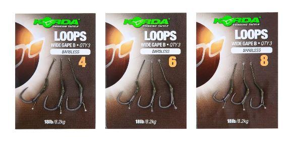 Korda – Loop Rigs Wide Gape X