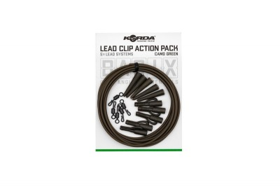 Korda – Basix Lead Clip Action Pack