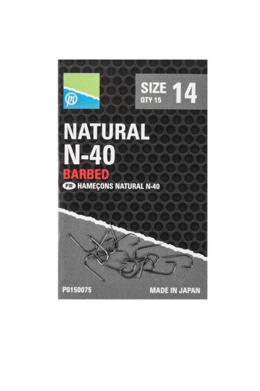 Preston N-40 Natural Hook